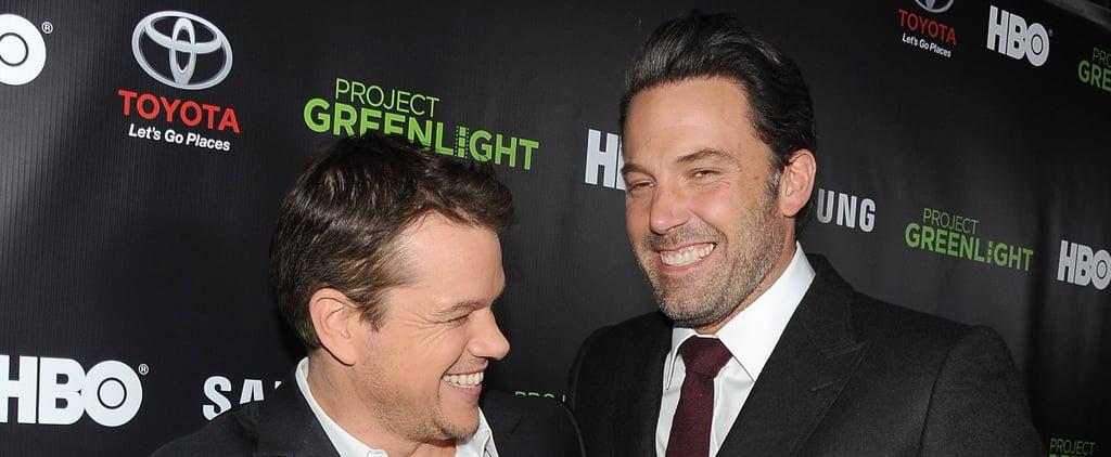 """Matt Damon Says He's Seen Ben Affleck's Penis """"Many Times"""" Before Gone Girl"""