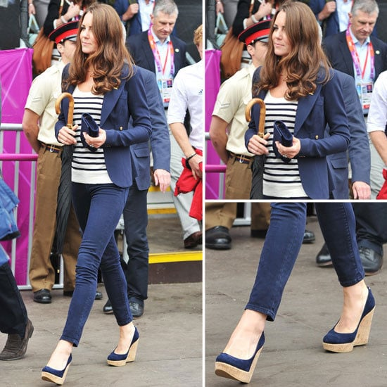 Steal Kate Middleton's Preppy Ensemble from the Olympics Equestrian Event: Shop Her Chic Separates!