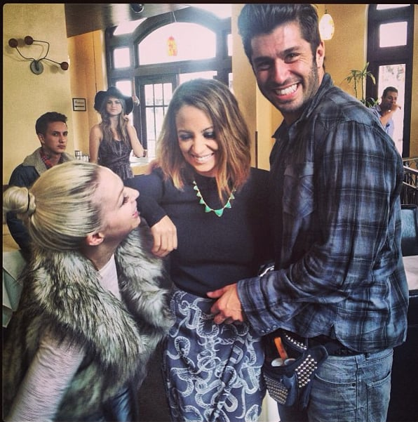 Nicole Richie and Andy Lecompte