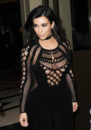 Kim-Kardashian-showed-quite-lot-skin-she-surfaced-London