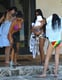 Pics: Kim Kardashian and Her Sisters in Bikinis in Miami With Baby Mason!
