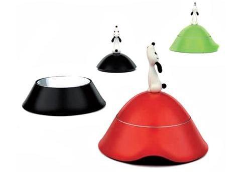 Lulà Dog Bowls Look Like Snoopy