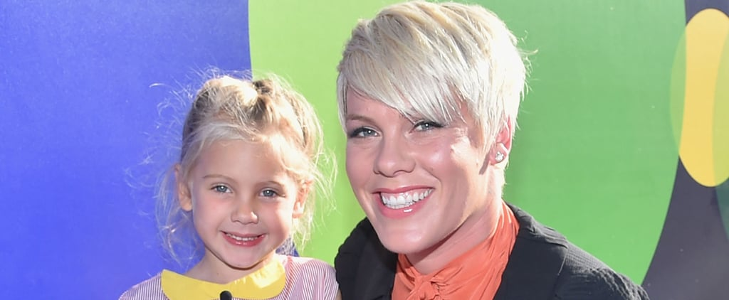Pink's Daughter Loves Motorcycles and Acrobatics, Is Officially Cooler Than Us