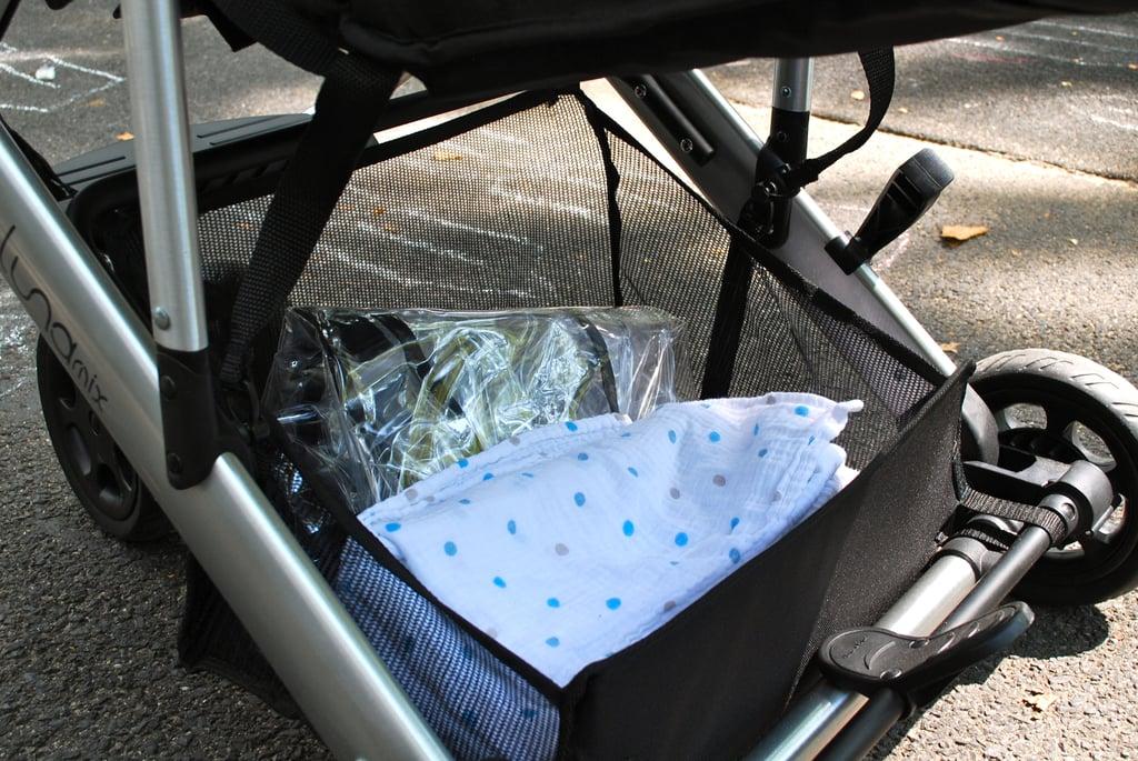 Under Carriage Storage Basket