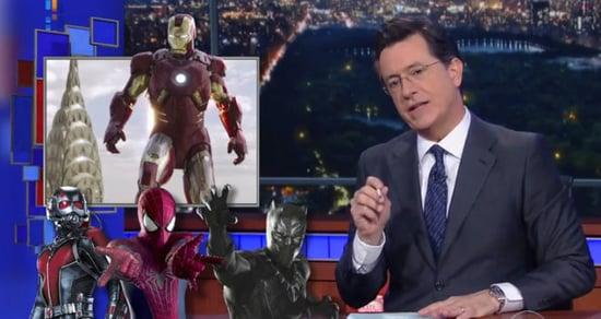 Stephen Colbert Slams Marvel's 'Sausage Fest' for Lack of Female Leads
