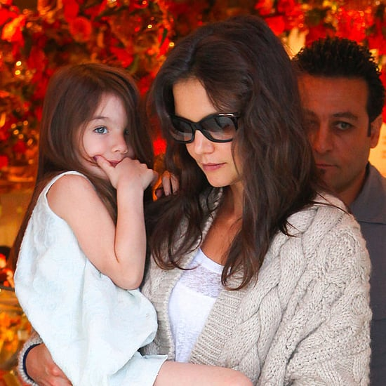 Katie Holmes's Trick For Making Suri Feel at Home