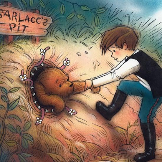 Star Wars Winnie the Pooh Art