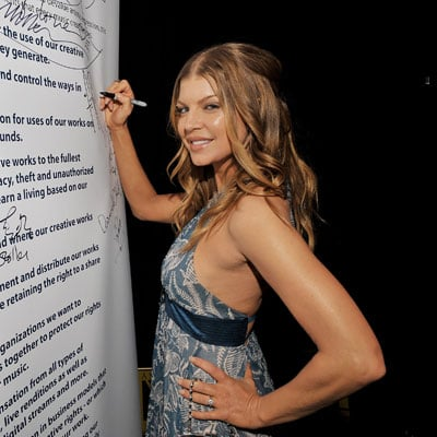 Fergie at the ASCAP Awards