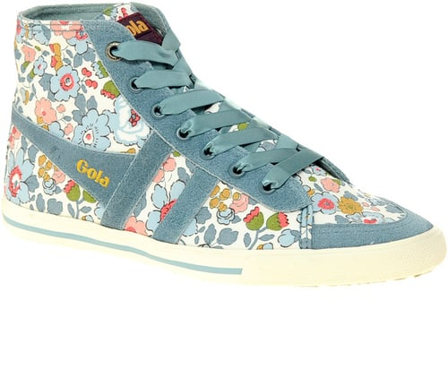 Gola Liberty Quota Betsy Blue High Top Sneakers