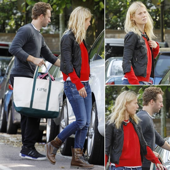 "Gwyneth Hangs With Her ""Best Decision"" Chris Martin"