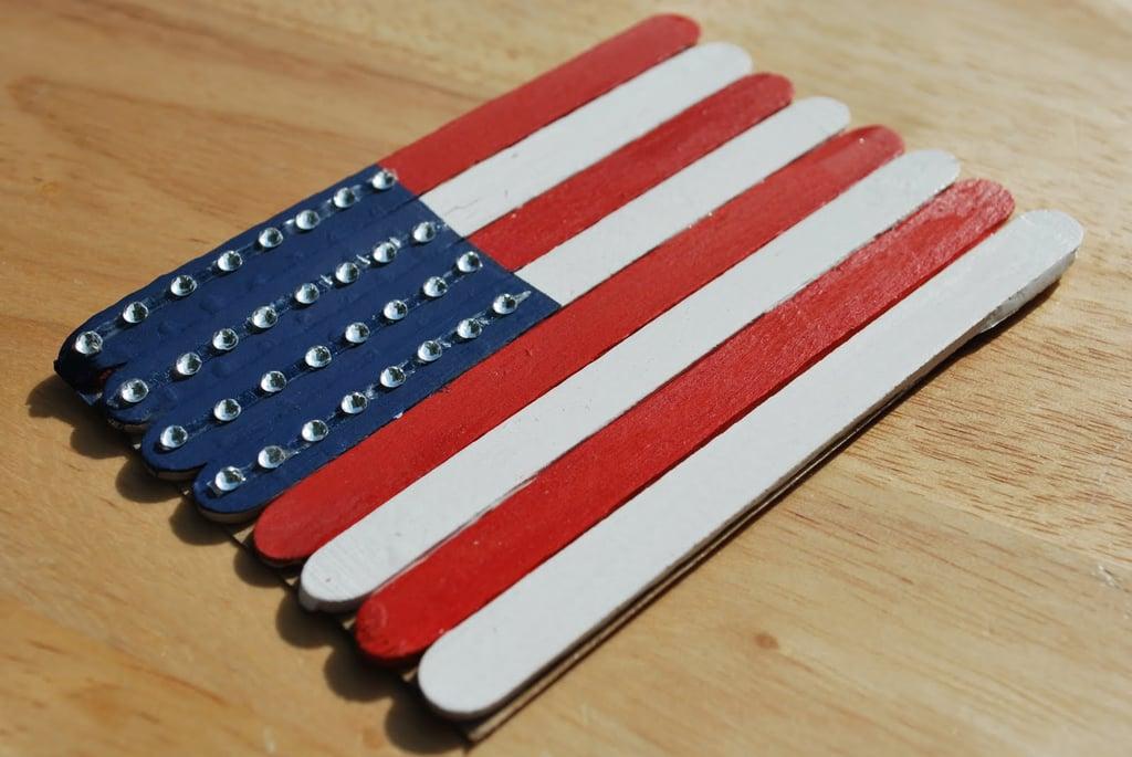 Craft Stick Flag