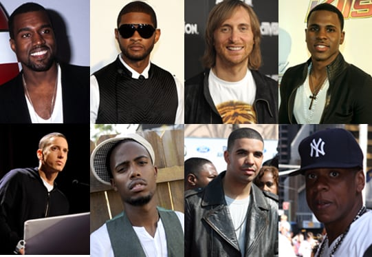 MTV's Male VMA Nominees