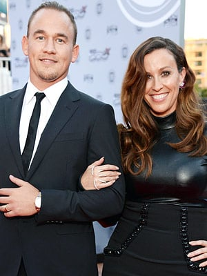 It's a Girl! Alanis Morissette Welcomes Her Second Child - See Daughter Onyx Solace's First Photo