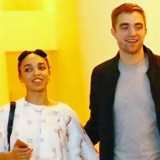 Robert Pattinson and FKA Twigs at Art Basel | Photos