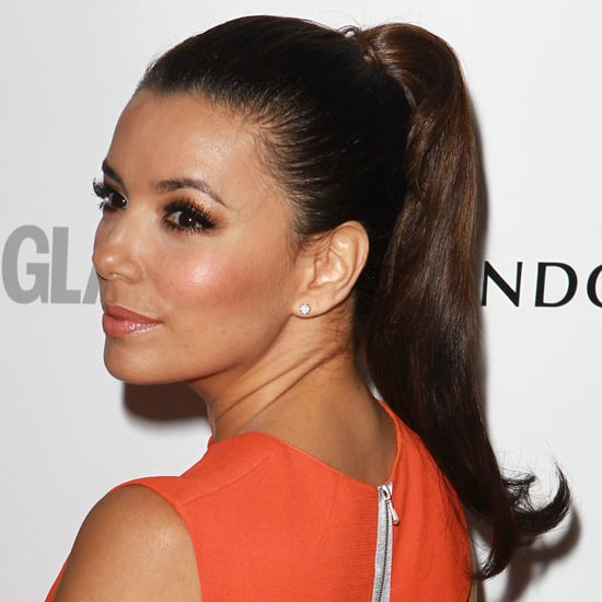 Ponytails at the Glamour Women of the Year Awards 2012