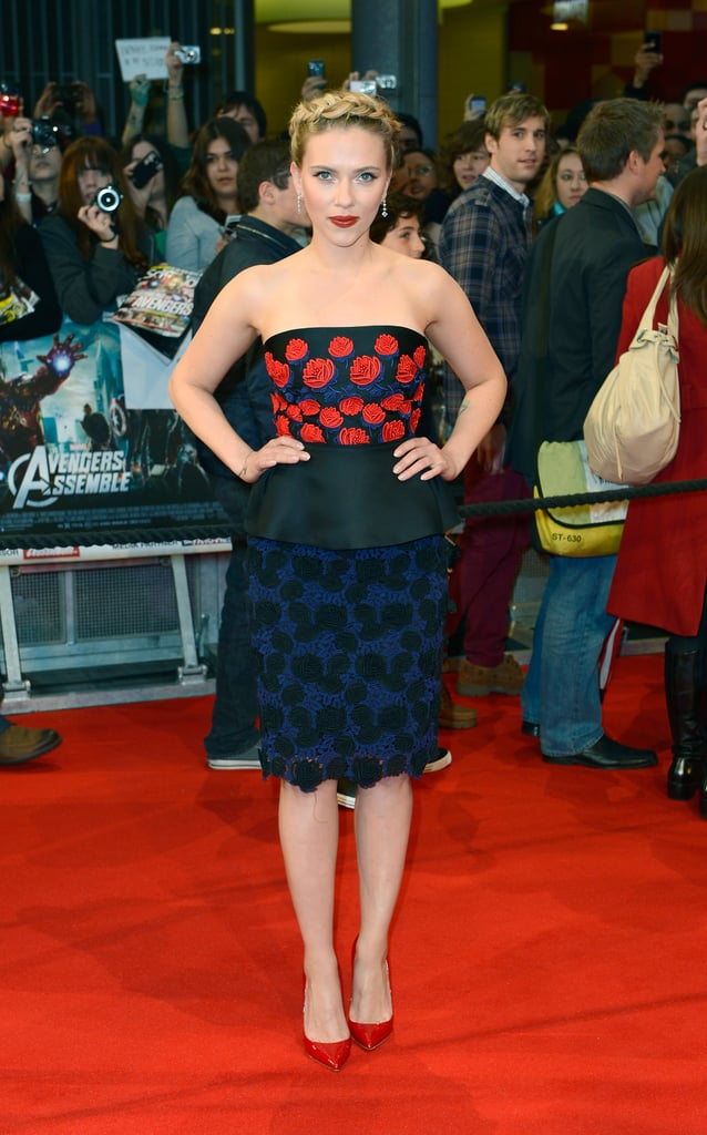 April 2012, The Avengers Premiere in London