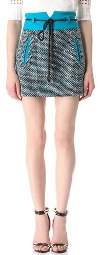 Milly Roberta Tweed Skirt