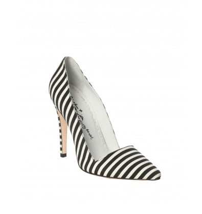 You can't get more '90s than Beetlejuice-striped heels — besides, these Alice + Olivia Dina Stripe Faille Heel ($295) will quite literally add some pep to your step and some print to any outfit.