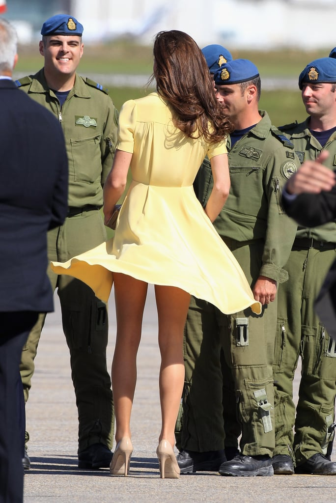 Kate Middleton looked lovely in yellow.