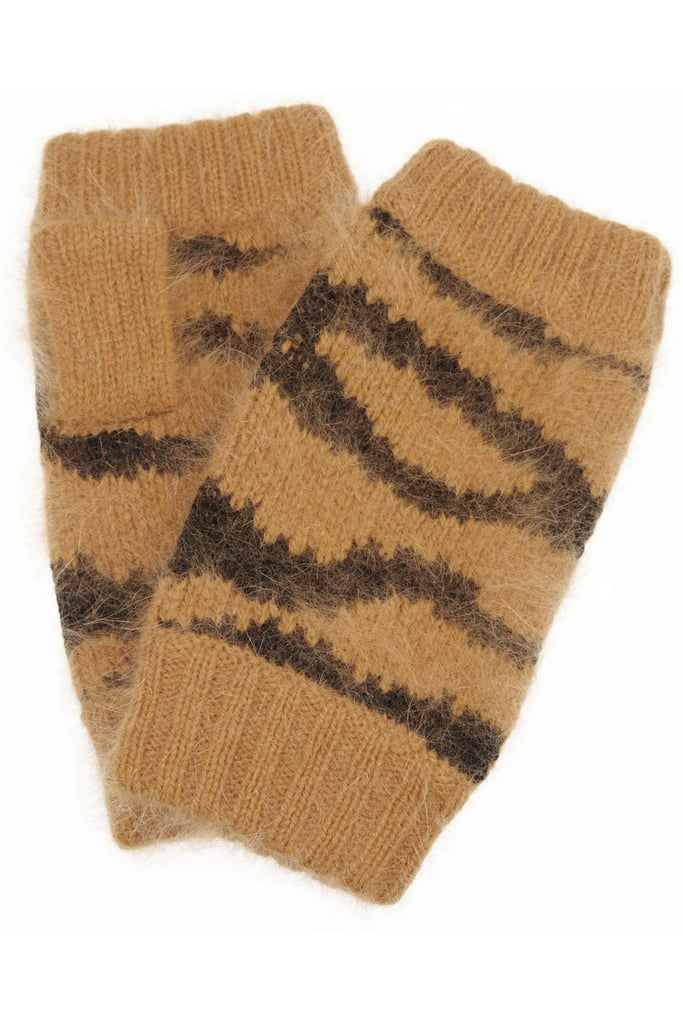 Mulberry Tiger-Striped Gloves