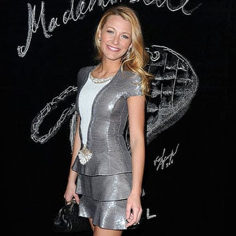 Pictures of Blake Lively at a Chanel Dinner in Paris as Her Mademoiselle Campaign Is Unveiled