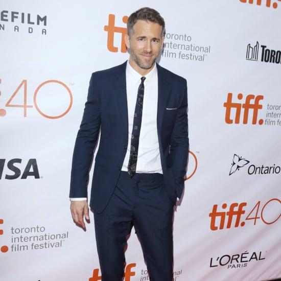 Ryan Reynolds at the Toronto Film Festival 2015