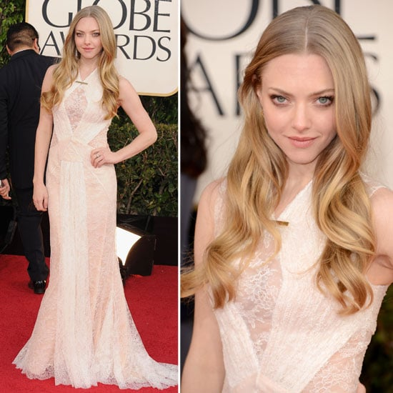 Amanda Seyfried in Custom Givenchy at the 2013 Golden Globes
