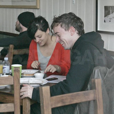 Lily Allen Eats Breakfast with Rumored New Boyfriend Robertson Furze