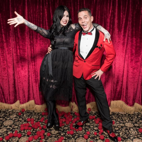 steve o and kat von d dating Katherine von drachenberg dating history kat von d and deadmau5 better known by his stage name steve-o, is an actor, stunt performer, producer, comedian.
