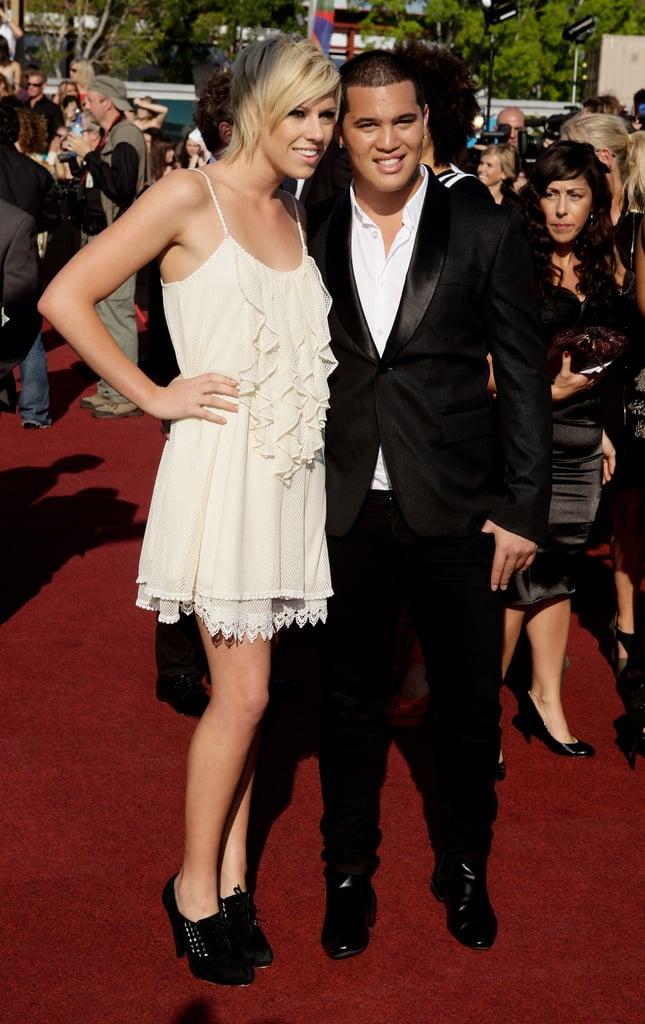 2009: Hayley Warner and Stan Walker