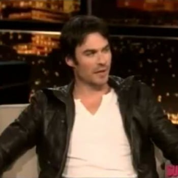 Ian Somerhalder 50 Shades of Grey Chelsea Lately Interview