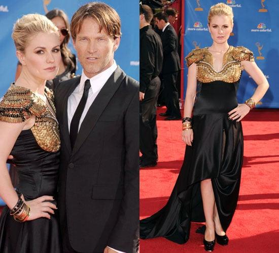 Anna Paquin Wears Alexander McQueen to 2010 Primetime Emmy Awards