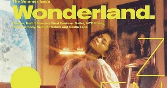 Everyone Thinks Zendaya Is Masturbating on This Magazine Cover