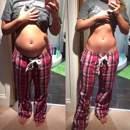 Blogger's Food Baby Disappears Overnight
