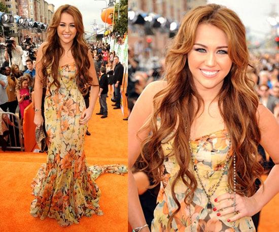 Miley Cyrus at the Kids' Choice Awards 2011 2011-04-03 14:28:37