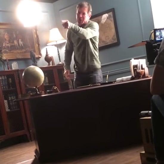 Dennis Quaid Outburst on Set | Video