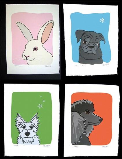 Gifts for Pet Lovers: Studio1212 Art Prints