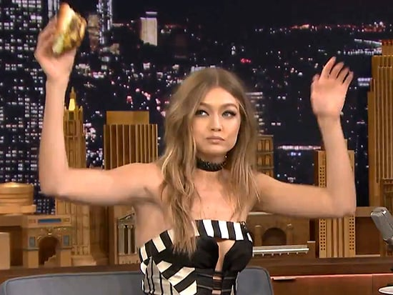 Gigi Hadid Chows Down on Her 'Favorite' Burger with Jimmy Fallon to Celebrate Her Birthday
