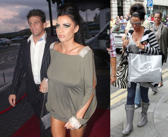 Pictures of Katie Price and Alex Reid in Dublin at Michelle Heaton's Wedding Party