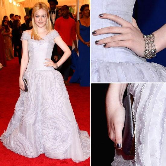 Dakota Fanning at Met Gala 2012