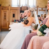 This Bride Breastfeeds Her Baby in the Middle of Her Wedding Ceremony