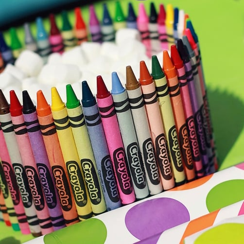 Creative and Easy Crafts With Crayons