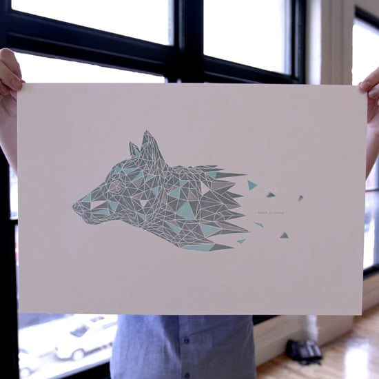 Game of Thrones Direwolf Poster