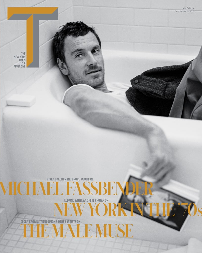 And his T Magazine cover shoot . . . we're speechless.