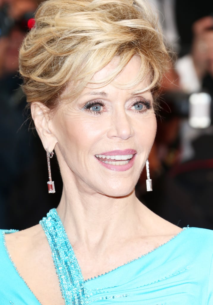 Jane Fonda never ceases to amaze us. Beautiful, as ever.