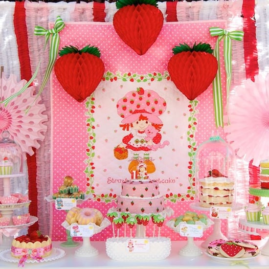 Vintage Strawberry Shortcake Birthday Party