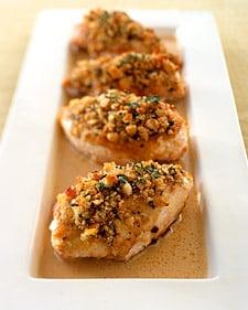 Fast & Easy Recipe For Crisp Mustard-Glazed Chicken Breasts