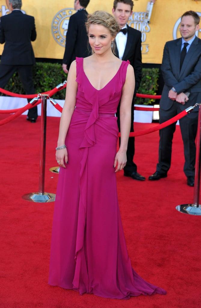Dianna Agron at the 2012 SAG Awards