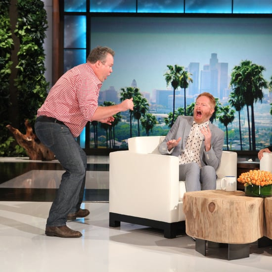 Jesse Tyler Ferguson Scare on Ellen