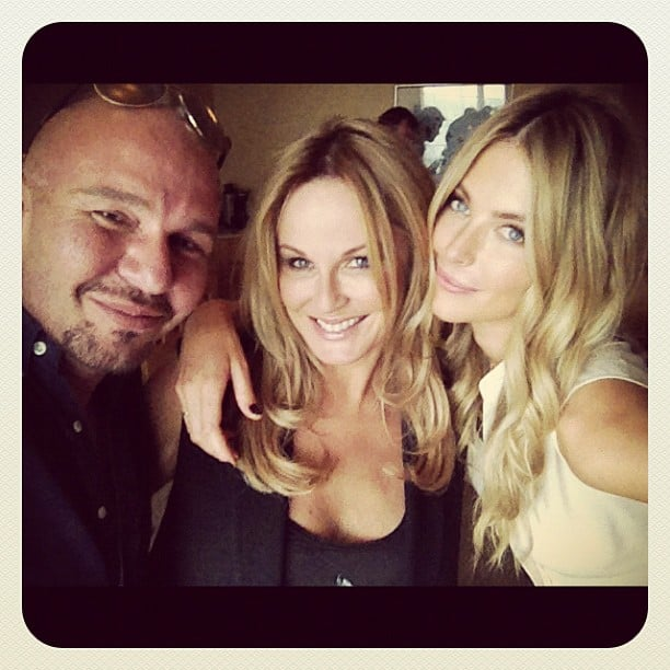 Alex Perry, Charlotte Dawson and Jennifer Hawkins joined forces for the Sydney auditions of Australia's Next Top Model. Source: Instagram user alexperry007